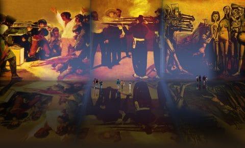 Fusilamientos, dramatizaciones de Francisco de Goya y Lucientes (1814), Edouard Manet (1868), Pablo Picasso (1951).