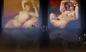 Majas, homenajes de Francisco de Goya y Lucientes (1802), Eugéne Delacroix (1826), Amadeo Modigliani (1916), Pablo Picasso (1906), (1931), (1959), (1964).