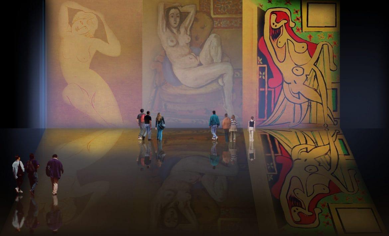Figuras Sedentes, versiones de Amadeo Modigliani (1918), Henri Matisse (1924), Pablo Picasso (1929).