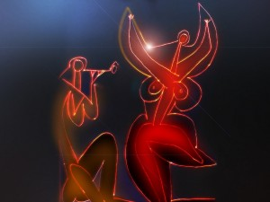 Danzando, pronóstico de Pablo Picasso (1956), encuadre de Francis Bacon (1933)