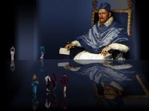 Diego Velázquez –  Tonos matices de la temporalidad.