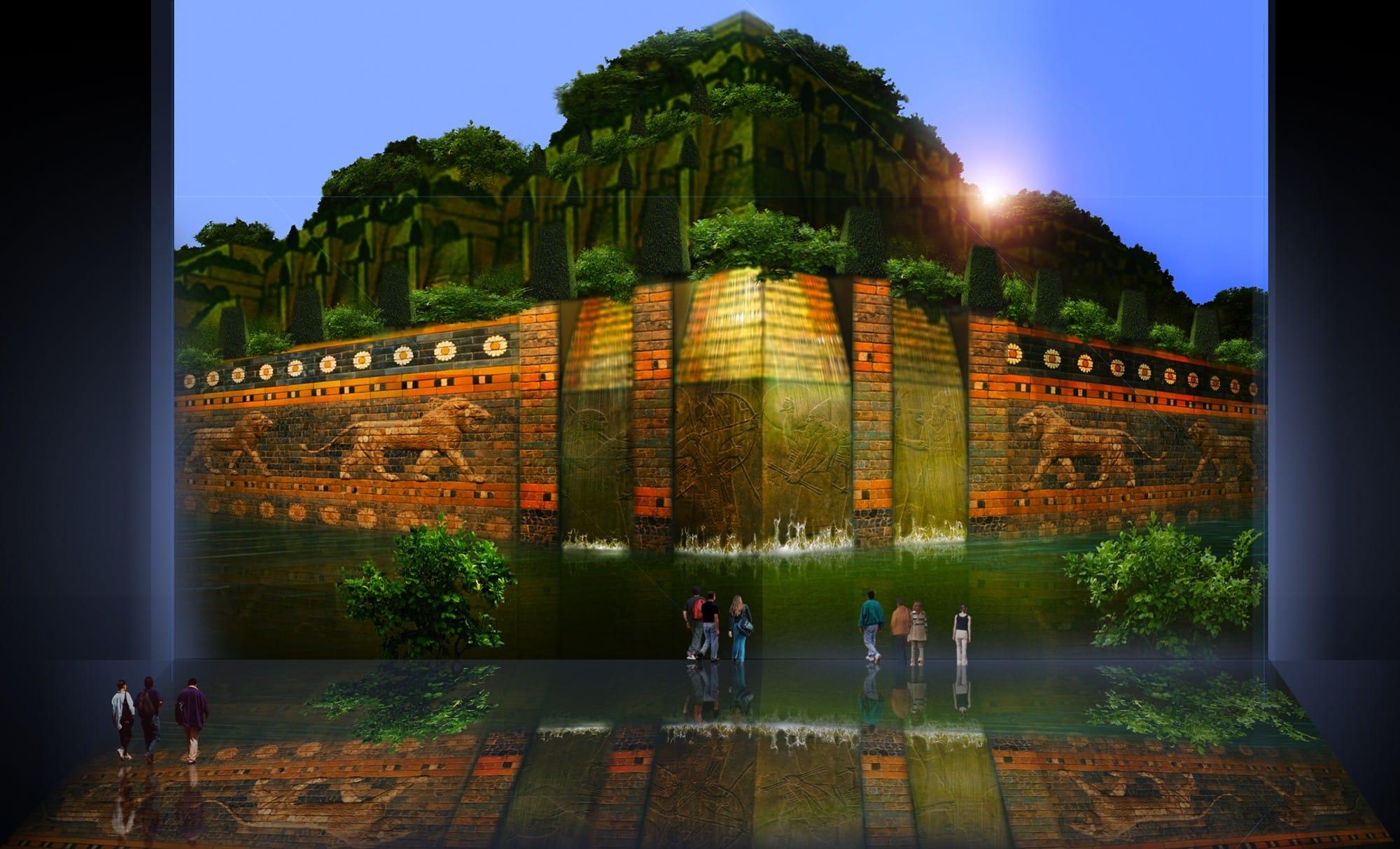 Jardines colgantes de babilonia the for Jardin de the