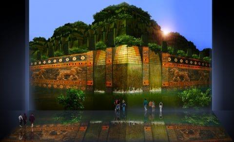 Jardines colgantes de Babilonia Concepto precursor e interpretación neoclásica