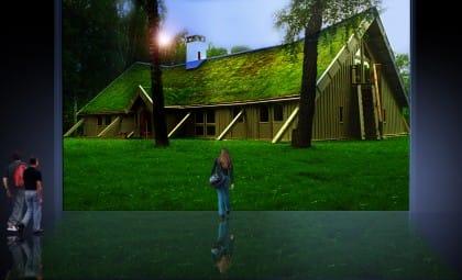 Techos Verdecidos / Integración funcional al paisaje