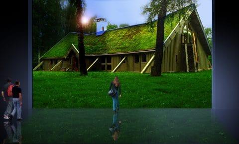 Techos Verdecidos Integración funcional al paisaje