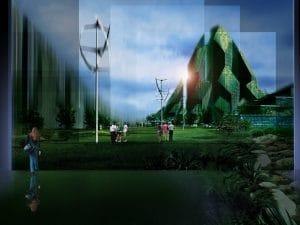 Ciudad vertical- Torre biónica