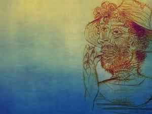 Autorretratos, introspecciones de Vincent van Gogh (1887), contrastaciones de Pablo Picasso (1938)