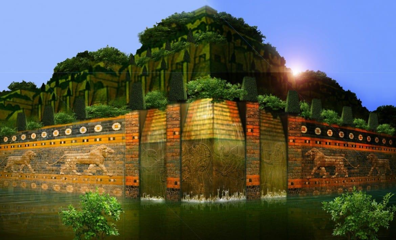 Jardines colgantes de babilonia the for Jardines colgantes de babilonia