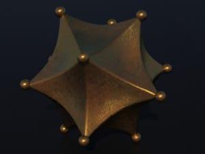 Sólidos Platónicos – Roman-dodecahedra