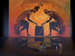Petteia – Ludus Latrunculorum / Iconografía de las civilizaciones helenolatinas